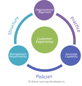 wilson learning customer experience map