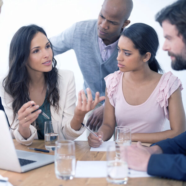 woman led strategy meeting