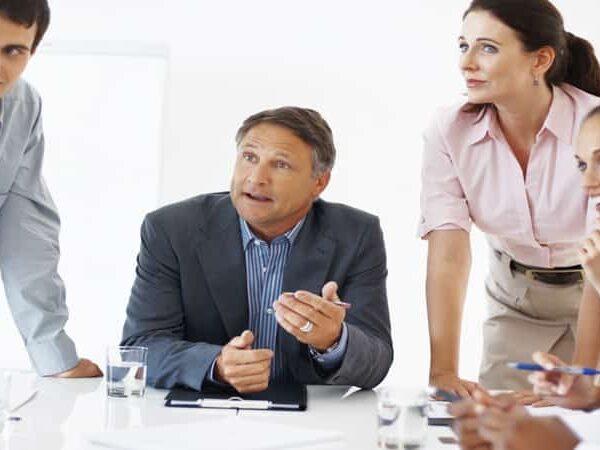 Sales performance meeting