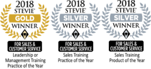 wilson learning sales and customer service trio winner awards