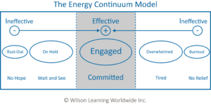 wilson learning the energy continuum model