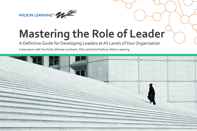 Mastering the Role of Leader